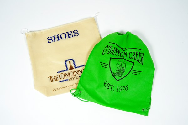 Stock Non Woven Printed Shopping Bags