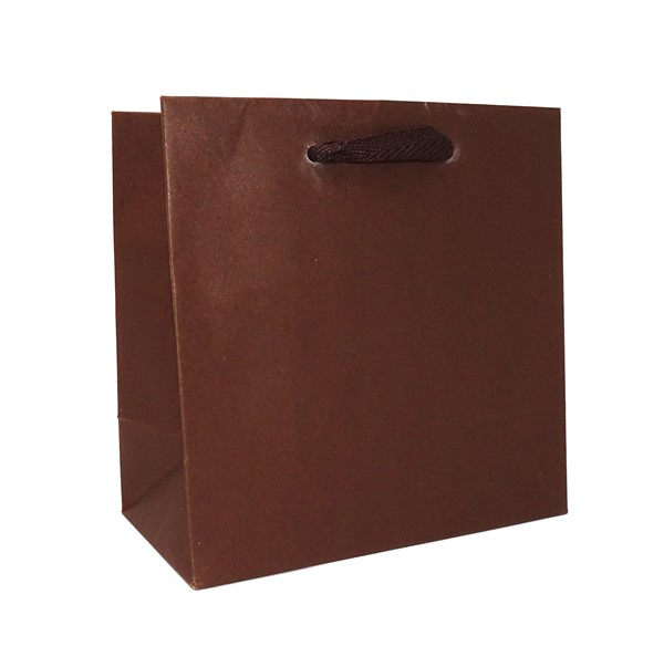 6.5 x 3.5 x 6.5 Colors on Kraft Ribbon Handle Eurototes (Case of 100)
